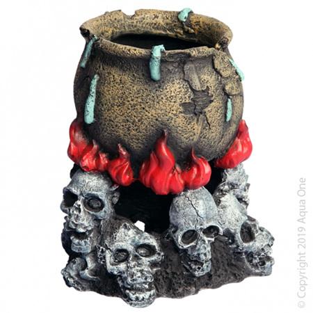 Aqua One Skull Fire with Cauldron