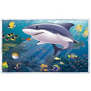 Aquarium & Shark Scene Setter