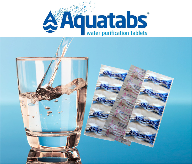 Aquatabs - Water Purification Tablets (10 tablet packet)