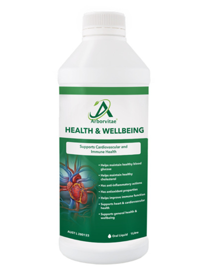 Arborvitae Health and Wellbeing Supplement 1 Litre