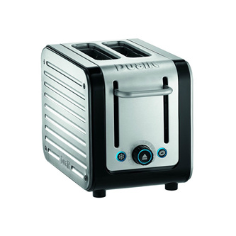 Architect 2 Slice Toaster - Brushed Stainless Steel, Black