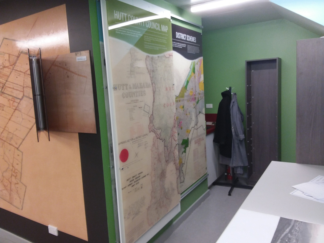 NEW: Hutt City Archives Reading Room