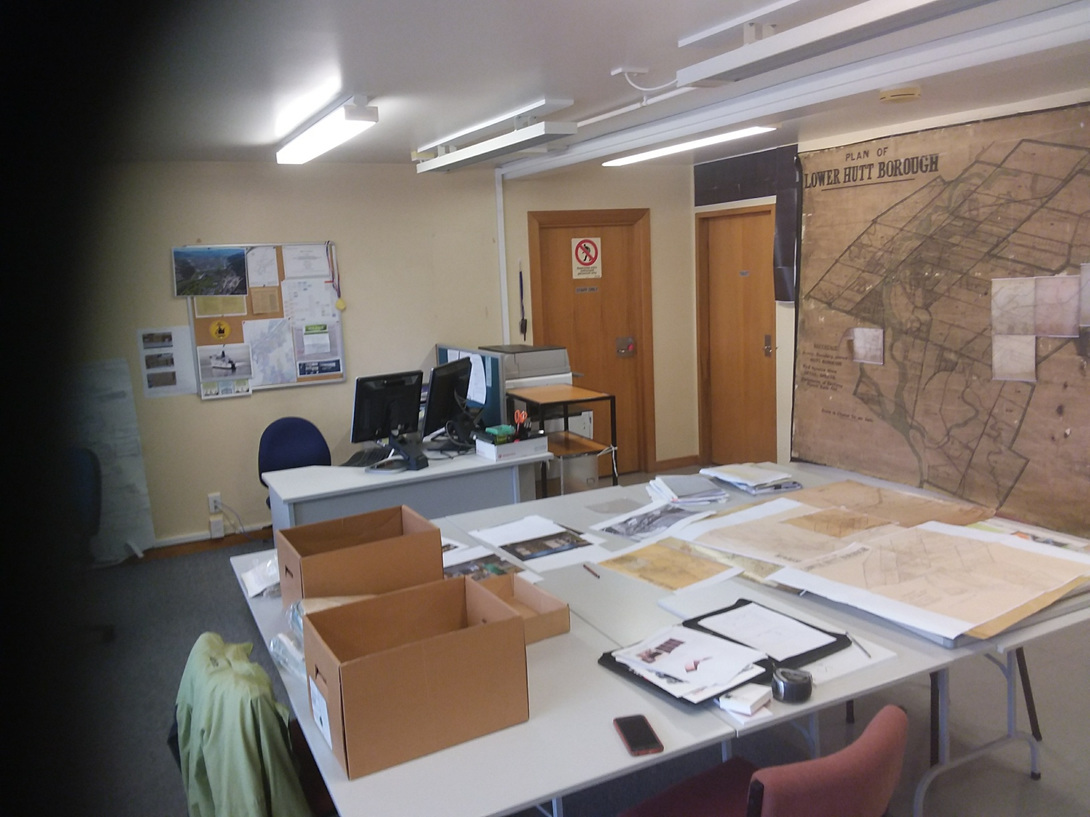 BEFORE: Hutt City Archives Reading Room