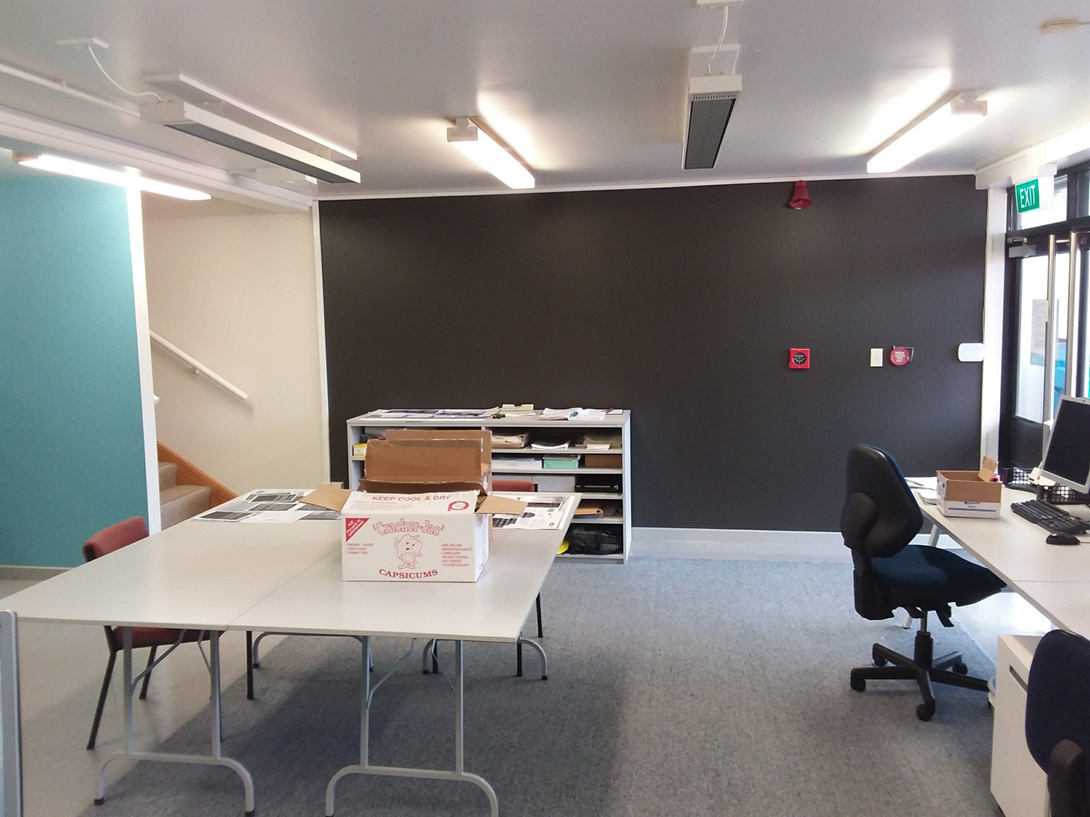WORK IN PROGRESS: Hutt City Archives Reading Room