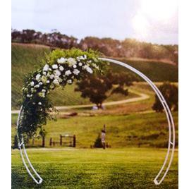 Archway Round White 260cm x 225cm  Arch Way