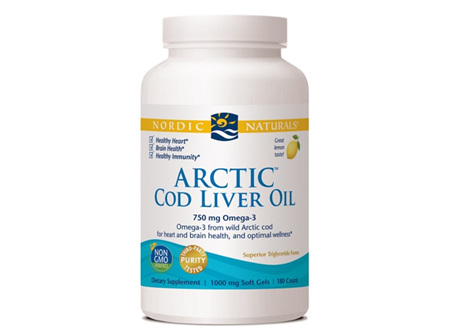 ARCTIC Cod Liver Oil Lemon 90caps