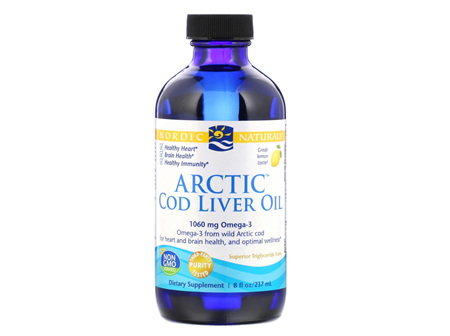 ARCTIC-D Cod Liver Oil Lemon 237ml