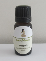 Argan Oil Certified Organic - choose 10ml, 20ml or 100ml bottle