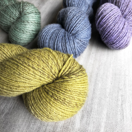 Aroha 4ply merino-cross/polwarth