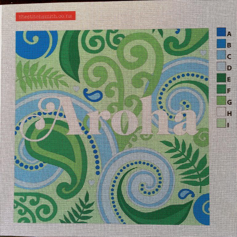 aroha needlepoint canvas