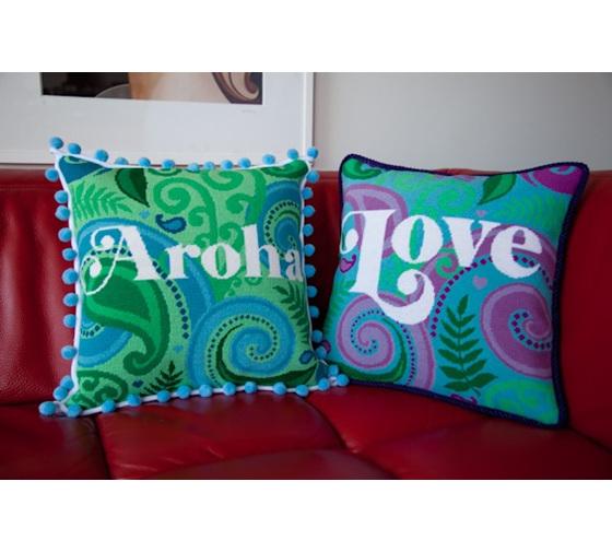 Aroha needlepoint kit