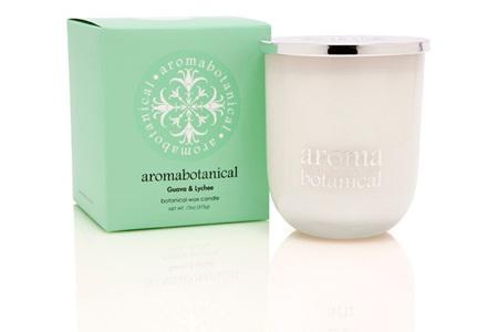 Aromabotanical Candle 375g - Guava & Lychee