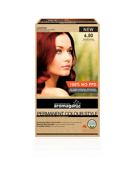 AROMAGANIC 6.50 Dark Blonde W. Red