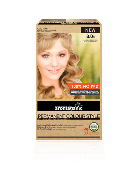 AROMAGANIC 8.0N Light Blonde