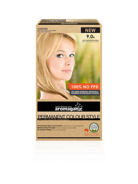 AROMAGANIC 9.0N Very Light Blonde