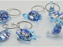 ARRIVING SOON Glass Wine Charms - Sea Life