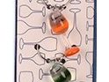 ARRIVING SOON Glass Wine Charms - Wine Glass
