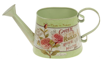 ARRIVING SOON Vintage Roses Watering Can