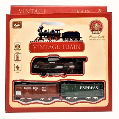 ARRIVING SOON Vintage-Style Train Set