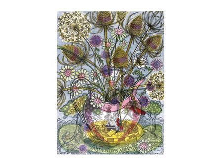 Art Angels Gardener's Arms II Card