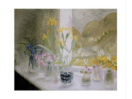 Art Angels Wild Flower Window-Sill Card