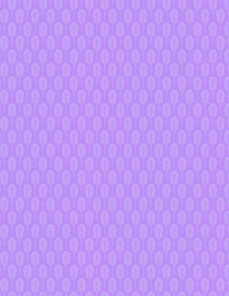 Art Deco Feathers Lightest Purple 39132-601