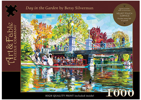 Art & Fable 1000 Piece Jigsaw Puzzle: Day In The Garden