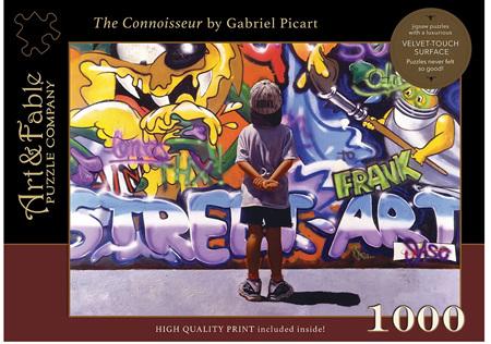 Art & Fable 1000 Piece Jigsaw Puzzle: The Connoisseur