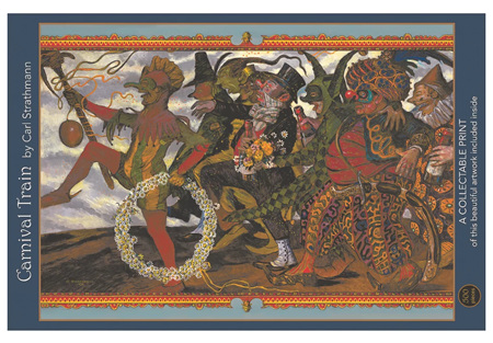 Art & Fable 500 Piece Jigsaw Puzzle: Carnival Parade