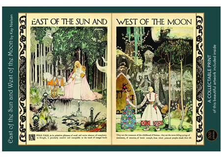 Art & Fable 500 Piece Jigsaw Puzzle: East of the Sun, West of the Moon