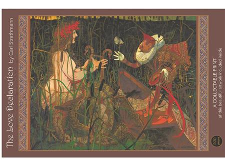 Art & Fable 500 Piece Jigsaw Puzzle: The Love Declaration