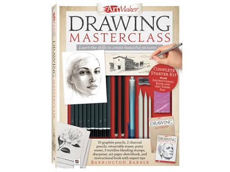 Art Maker Portrait Kits Drawing Masterclass