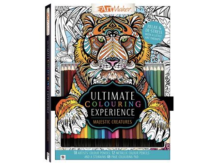 Art Maker the Ultimate Colouring Experience: Tiger