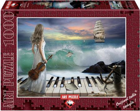 Art Puzzle 1000 Piece jigsaw Puzzle: Sea Symphony