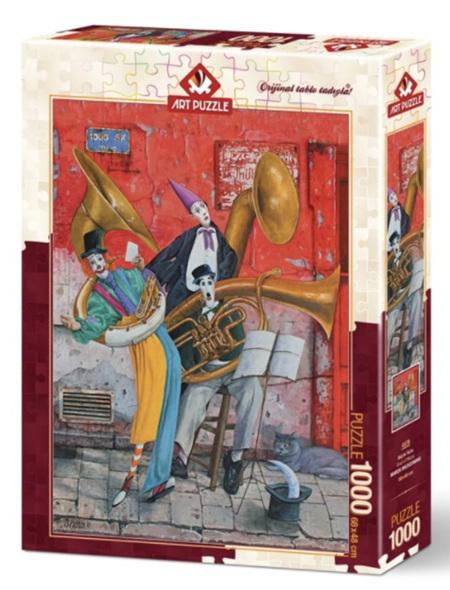 Art Puzzle 1000 Piece jigsaw Puzzle: Soul Of Music