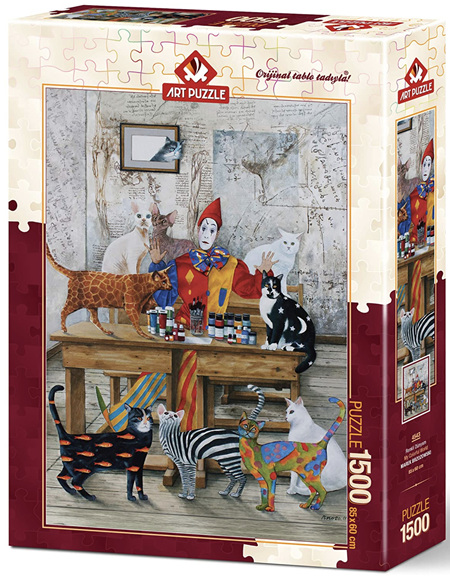 Art Puzzle 1500 Piece jigsaw Puzzle: My Colorful World