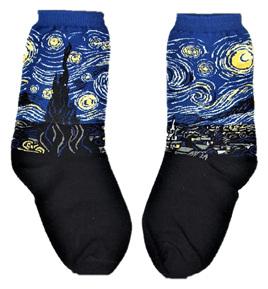 "Art Socks: ""Starry Night"" by Vincent Van Gogh"