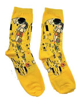"""Art Socks: """"The Kiss"""" by Klimt"""