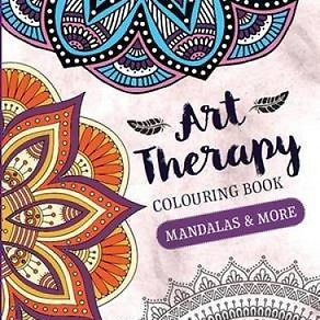 Art Therapy Colouring Books 2 titles available pick one