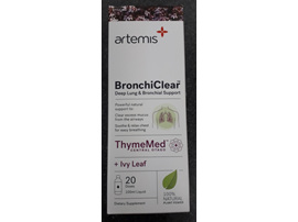 ARTEMIS BronchiClear 100ml