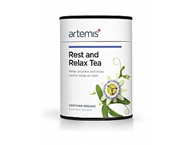 Artemis Rest and Relax Tea helps relax, unwind and replenish the adrenals - 30g