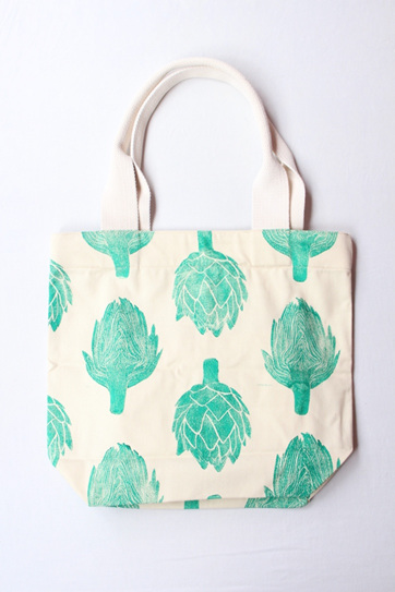 Artichoke Tote with Webbing Handle