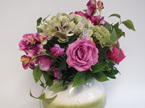 #artificialflowers #fakeflowers #decorflowers #fauxflowers#arrangement#pink#gree