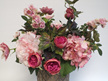 #artificialflowers #fakeflowers #decorflowers #fauxflowers#arrangement#pinks