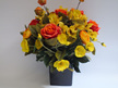 #artificialflowers #fakeflowers #decorflowers #fauxflowers#arrangement#orange#