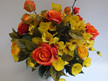 #artificialflowers #fakeflowers #decorflowers #fauxflowers#arrangement#orange#
