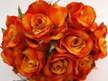 #artificialflowers #fakeflowers #decorflowers #fauxflowers#silk#rose#posy#orang#