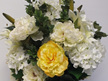 #artificialflowers #fakeflowers #decorflowers #fauxflowers#arrangement#yellow