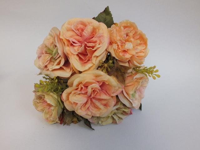 #artificialflowers #fakeflowers #decorflowers #fauxflowers#posy#rose#apricot