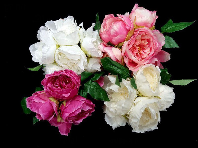 #artificialflowers #fakeflowers #decorflowers #fauxflowers#whitepeoosy